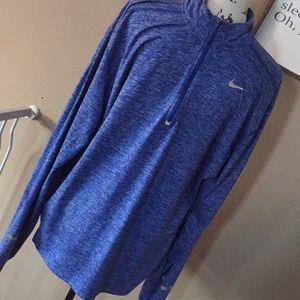 Nike running Friday for men's size XXL blue shirt